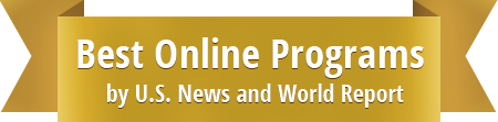 Best Online Programs by U.S. News and World Report