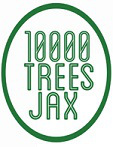 10,000 Trees Jax logo