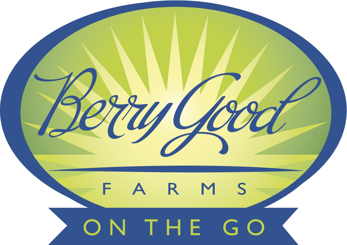 Berry Good Farms on the Go logo