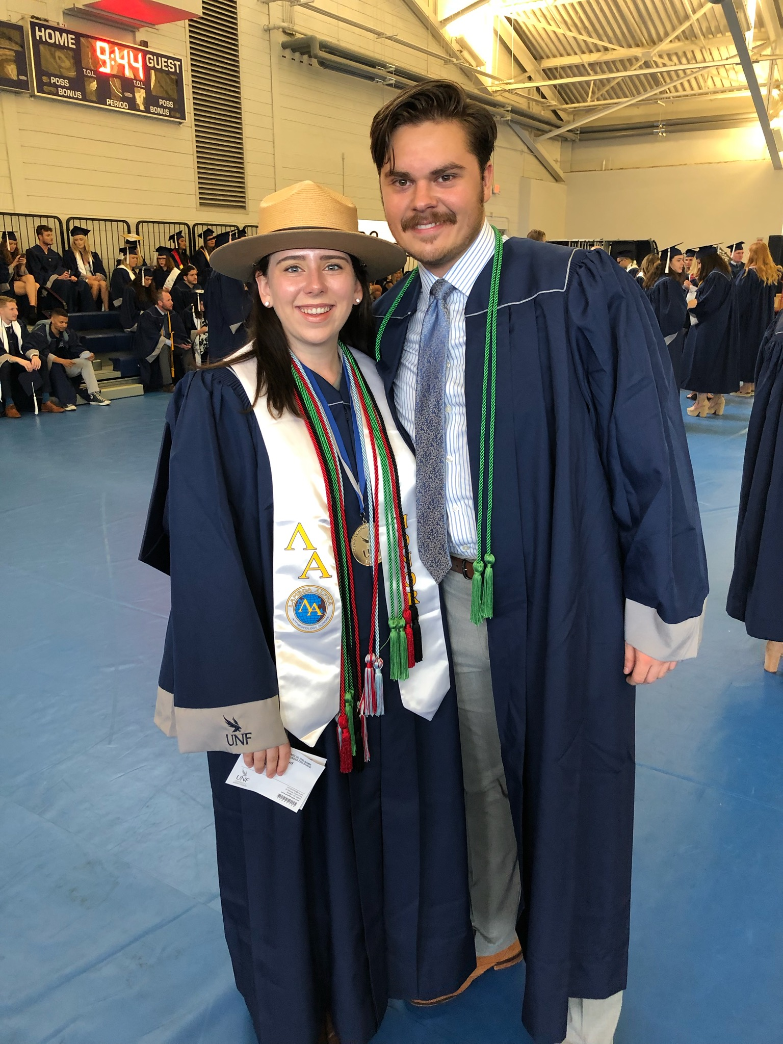 ELP graduates Kaley Crawford and Thoren Perego