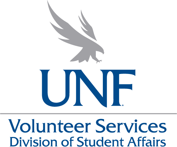 UNF Volunteer Services logo