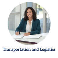 Transportation and logistics program link -female student smiling at the camera