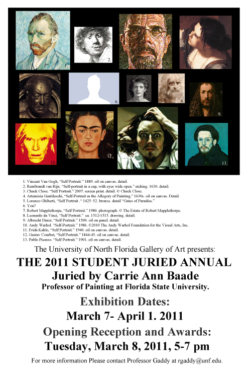 2011 Juried Annual poster