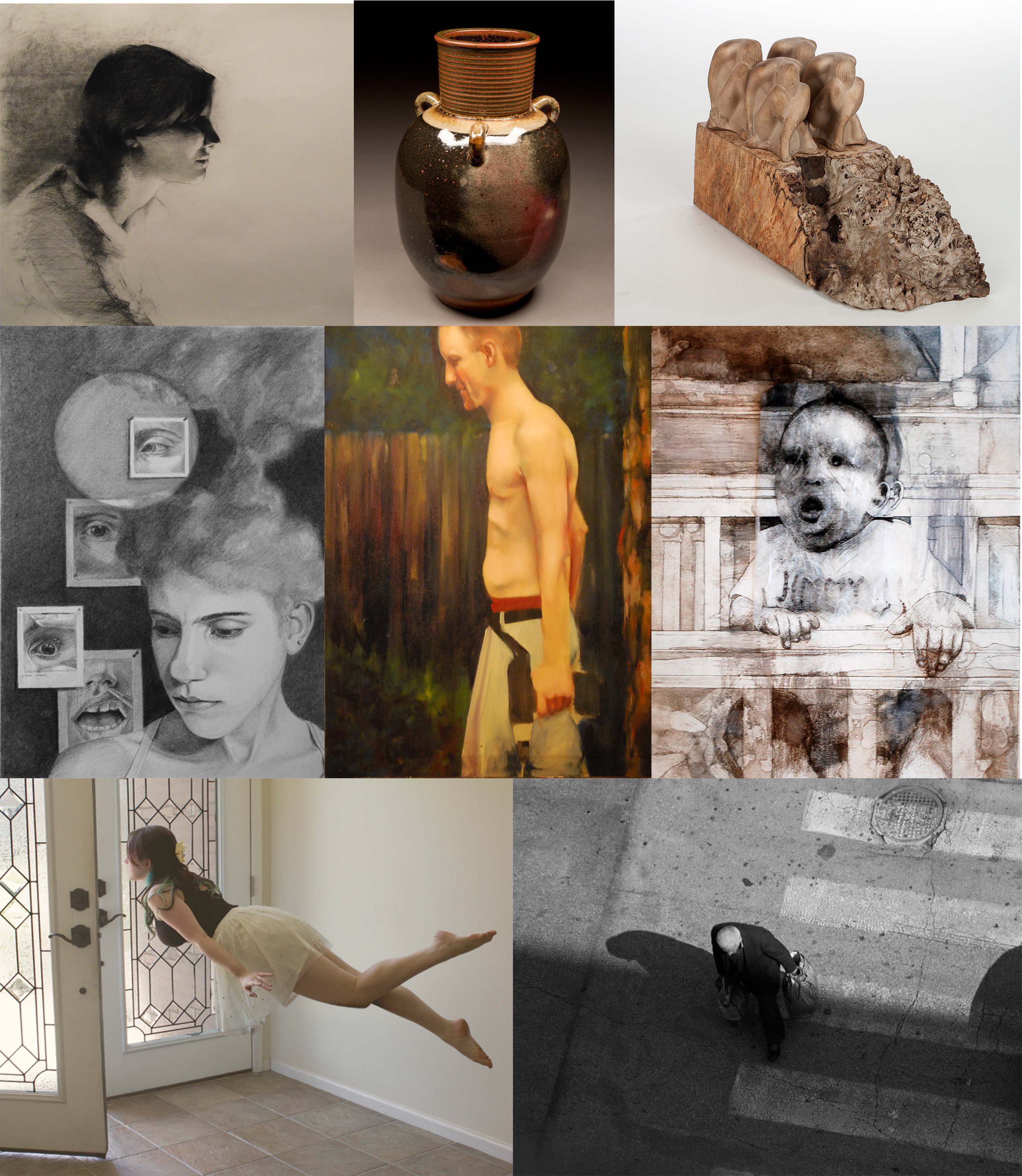 Art and Design Student Juried Annual Exhibition collage