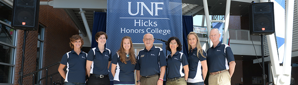 Hicks Honors College staff