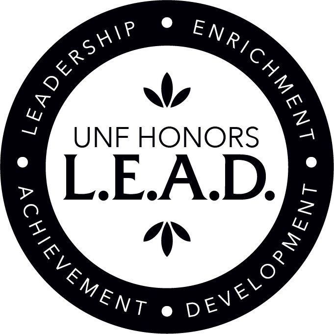 UNF Honors Lead - Leadership Enrichment Acheivement Development - logo