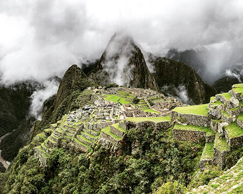 Peru mountainside