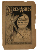From Rare Materials: Acres of Ashes: a story of the great Jacksonville fire, May 3, 1901, by Benjamin Harrison