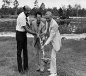 Groundbreaking of Library (building 12), August 8, 1978