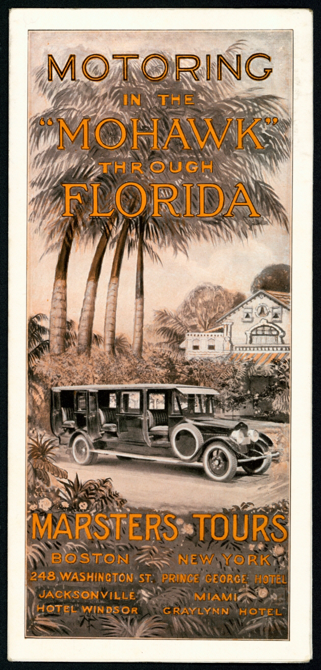 From Rare Materials: Motoring in the Mohawk through Florida: Marsters tours, 192-?