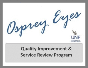 osprey eyes logo - quality improvement and service review program