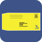 Citation envelope with UNF logo