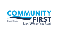 ATM Community First Credit Union bank logo