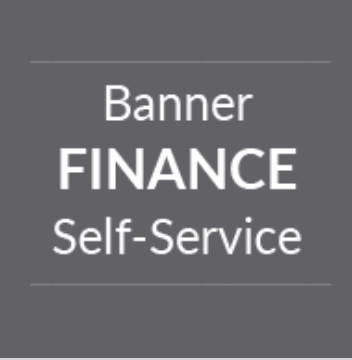 Banner Finance Self Service Tile
