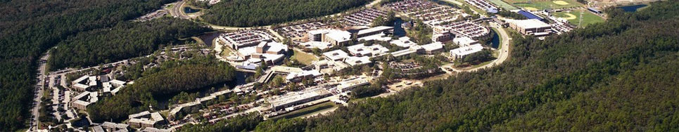 aerial photo of UNF