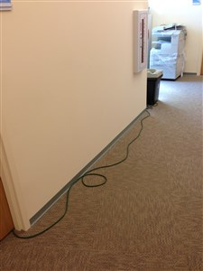 Extension cord Improper use