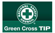 Green Cross Safety Tip