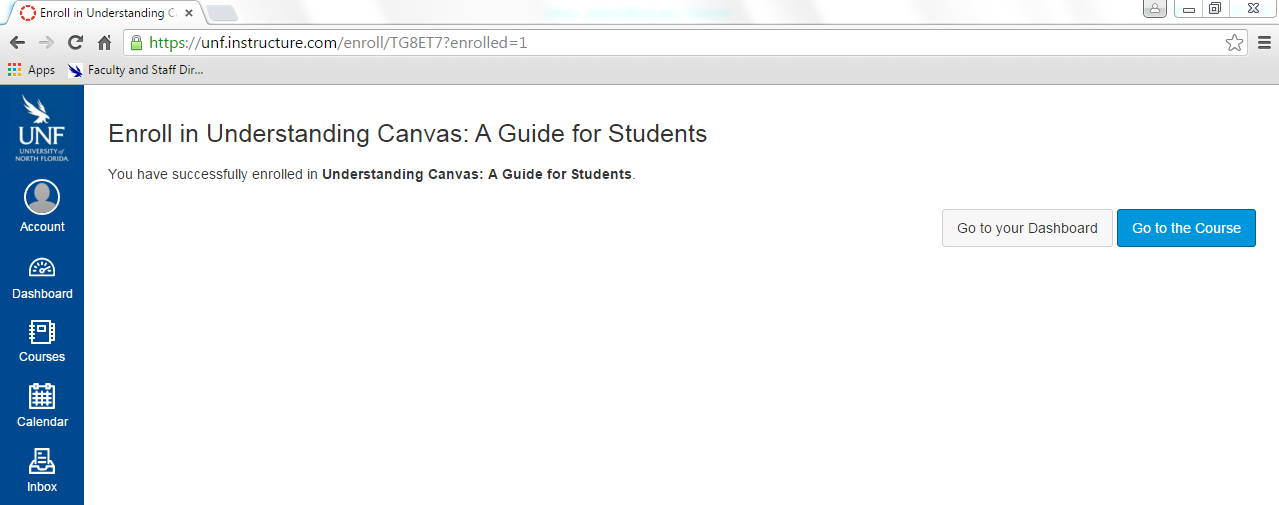 UNF Canvas sell-enroll enrolled