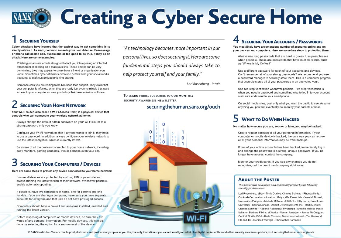 cybersecurehome