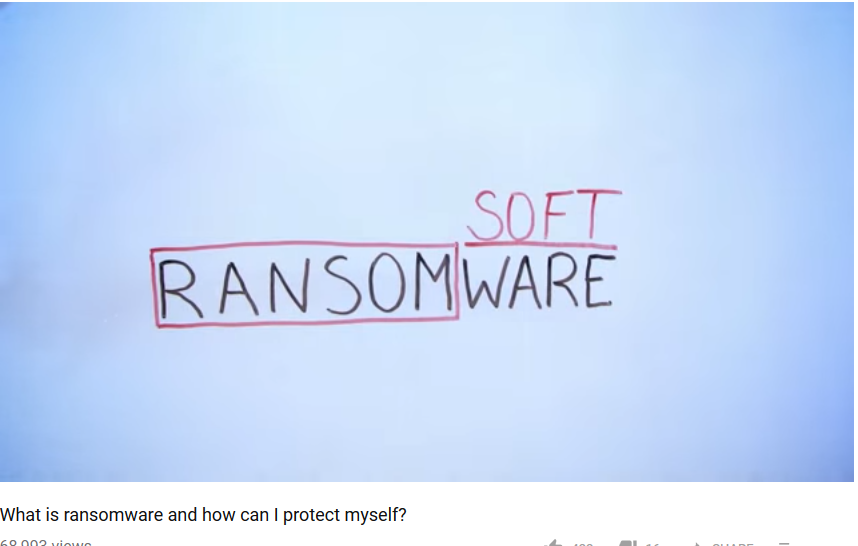 Ransomware video
