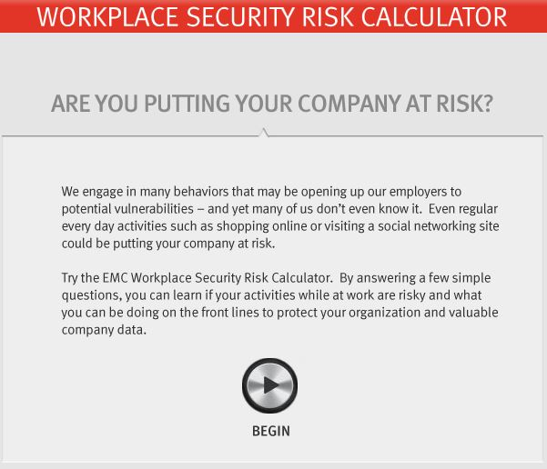 Workplace Security Calculator