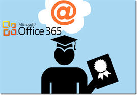 Office 365 grad with ribbon