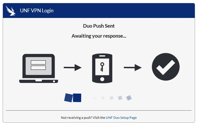FortiClient Duo push Windows
