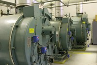 major equipment located in the central plant facility