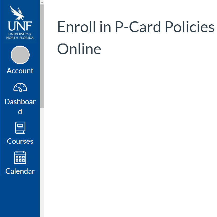 Enroll in P-Card