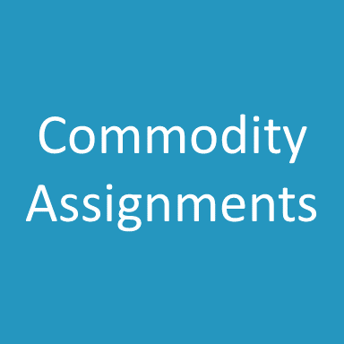 Commodity Assignments