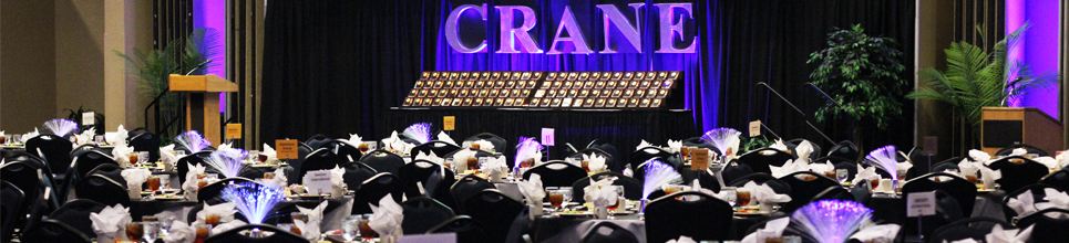 A photo of the annual CRANE Awards banquet