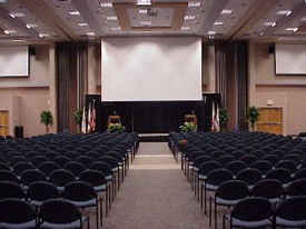 University Center Grand Banquet Hall Theater Style Seating
