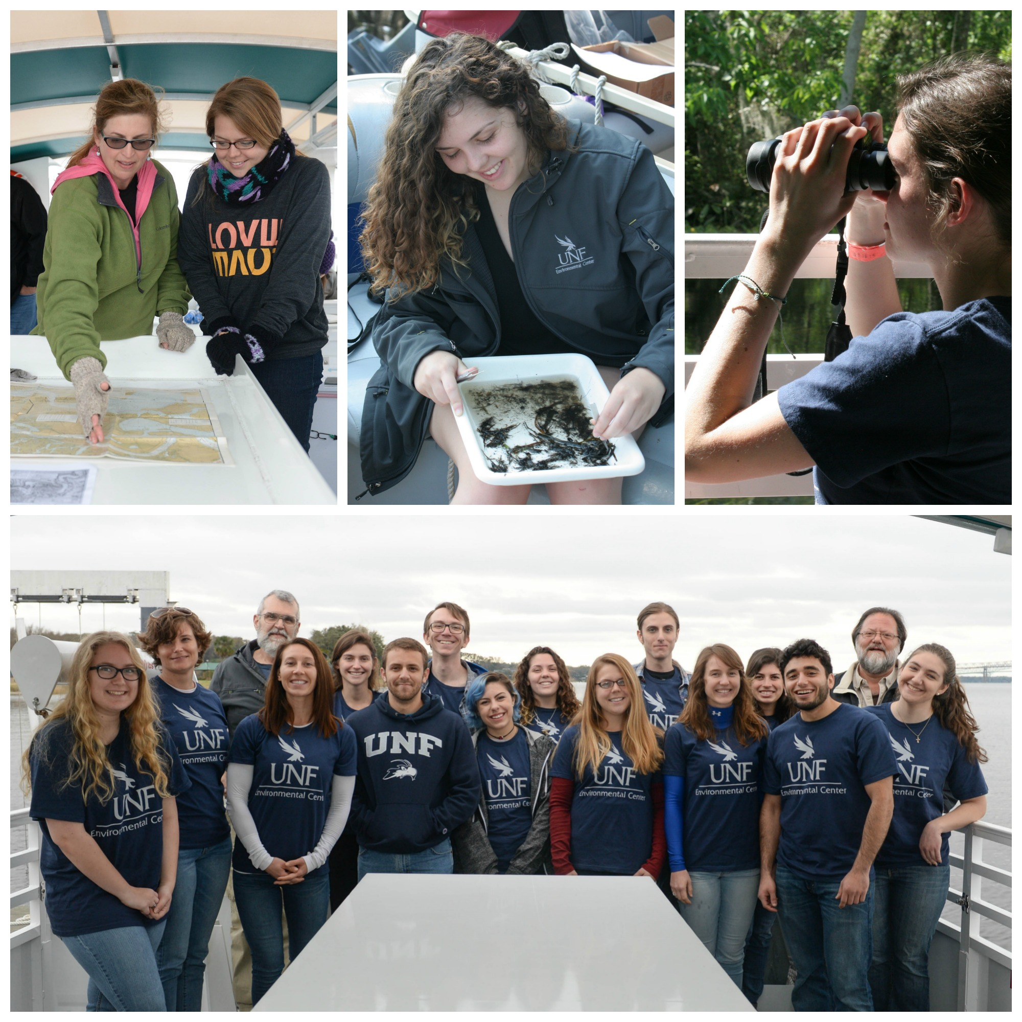 Students from the 2015 St. Johns River Experience