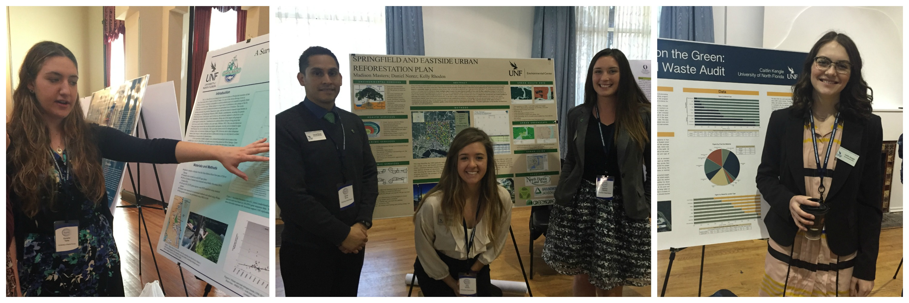 Student at the Florida Undergraduate Research Conference