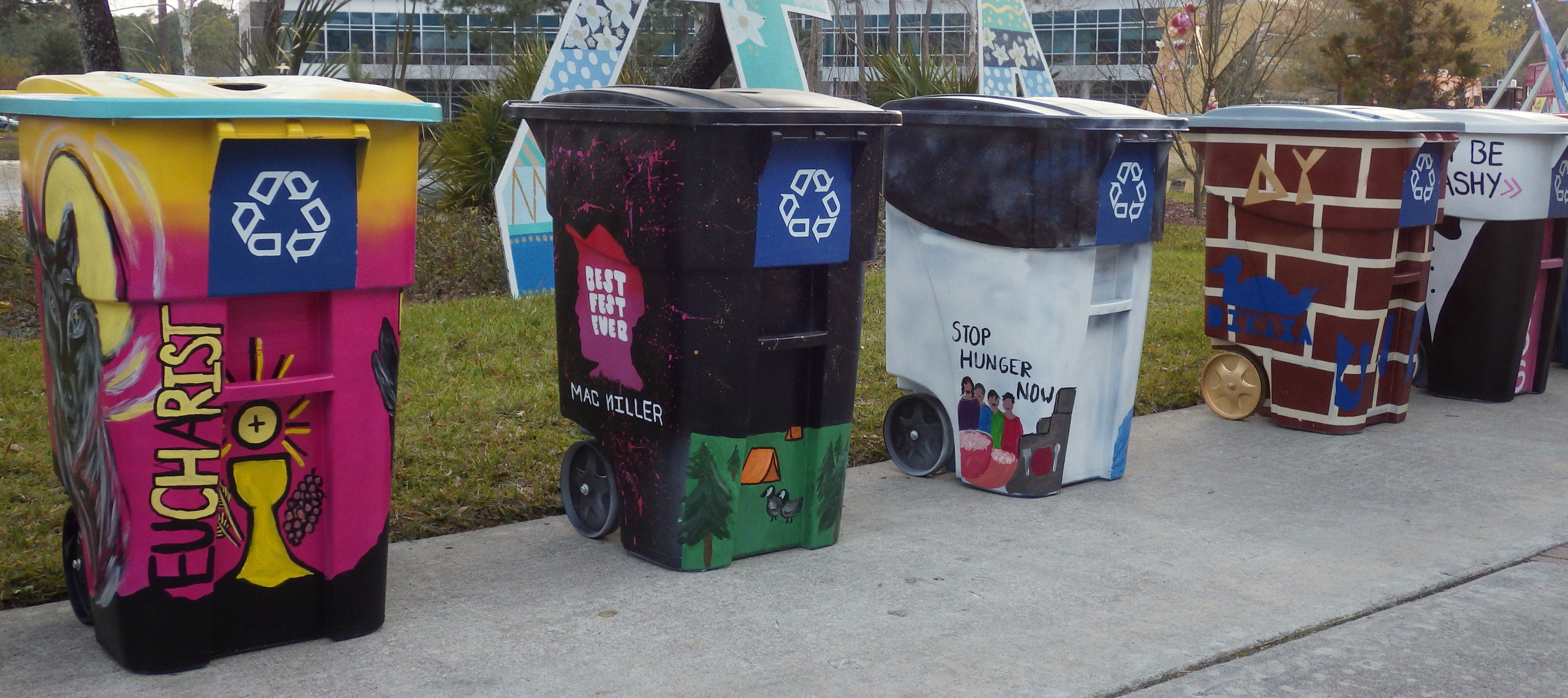 Photo of 2015 Bin Wars competition