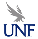 UNF Osprey blue and gray logo