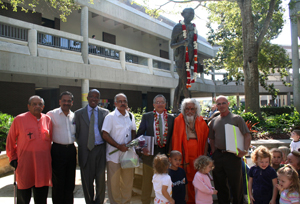 UNF celebrates Gandhi's birth and International Non-Violence Day