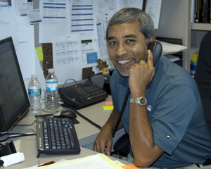 Dr. Parvez Ahmed (photo by Kailyn Hopkins)