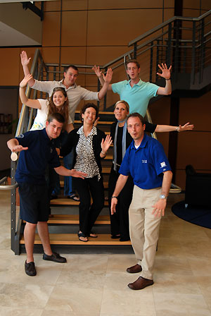 UNF's Spirit Advisory Board members-photo by Kailyn Hopkins