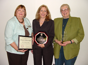 Drs. Kristine Webb, Anita Vorreyer and Christine Rasche