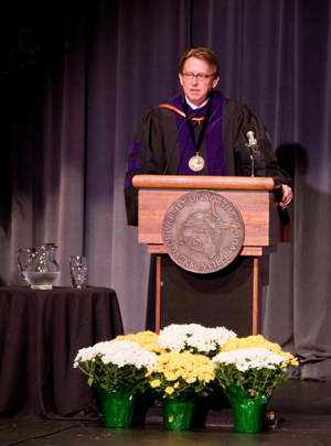 President John Delaney (Photo by Mario Peralta)