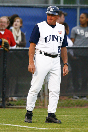 UNF Baseball Coach Dusty Rhodes (photo by Mario Peralta)