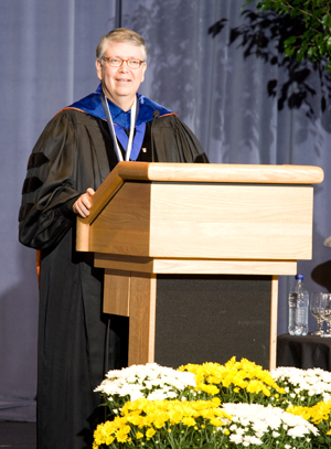 2010 Distinguished Professor David Fenner