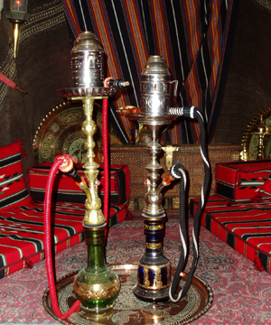 Evidence shows that hookahs are not safer to smoke than cigarettes.