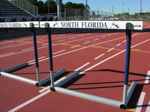Hodges Stadium track at UNF