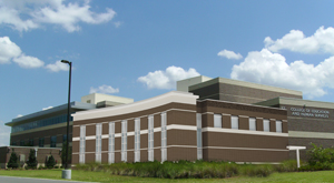 A rendering of the future addition to the College of Education and Human Services Building