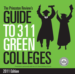 UNF is one of The Princeton Review's 311 Green Colleges.