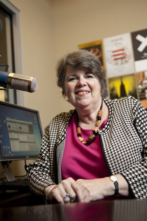 "Dr. Elizabeth Furdell, a UNF history professor, taped an ""Academic Minute"" earlier this fall."