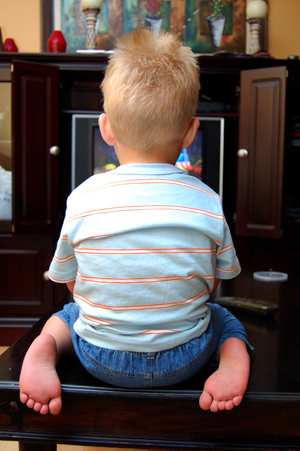 Is it a good idea for infants and toddlers to watch TV?