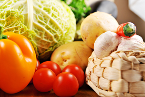 Eating more fruits and vegetables can be key in helping to reduce cholesterol.